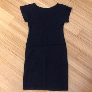 American Apparel classic girl dress Navy